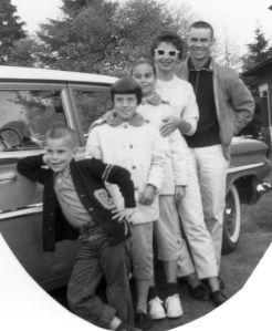 Paul Cathy Penny Lea Edsel Colvin 1960