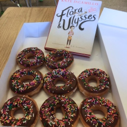 Holy Bagumba! What a sweet way to celebrate the end of this book. You have to read the book to understand why we did this.