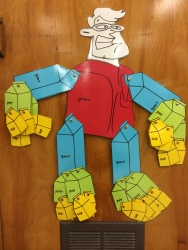 Gallon Man has become a favorite in the classroom