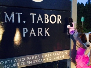 "Melody from ""Out of My Mind"" visits Mt. Tabor Park"